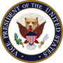Not the official Seal of the Vice President